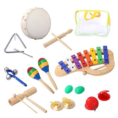 Cahaya: Großes Percussion-Set für Kinder ab 3 Jahre