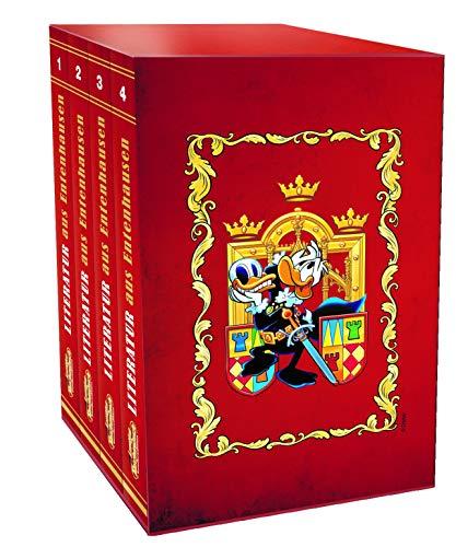 Lustiges Taschenbuch Literatur Bestseller (4 Bände im Schuber): Lustiges Taschenbuch Sonderedition