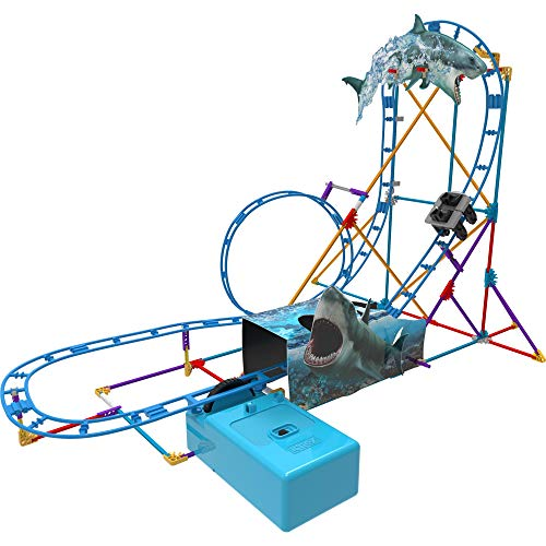 K'Nex 34041 BAU-und Konstruktionsspielzeug Set Shark Coaster, STEM Baukasten, Konstruktionsset für...