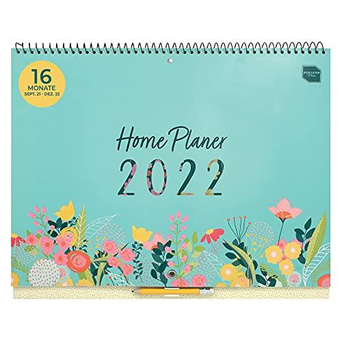 Boxclever Press Home Planer Kalender 2022 Wandkalender. Geräumiger Familienplaner 2022 ab sofort nutzbar...