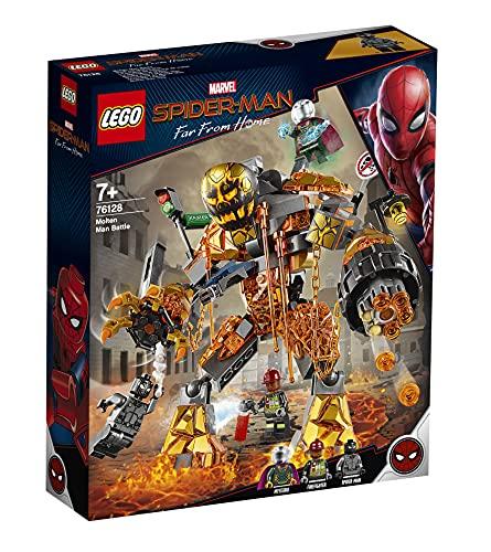 Superhelden-Spielzeug 'Duell mit Molten Man' von LEGO Marvel Spider-Man