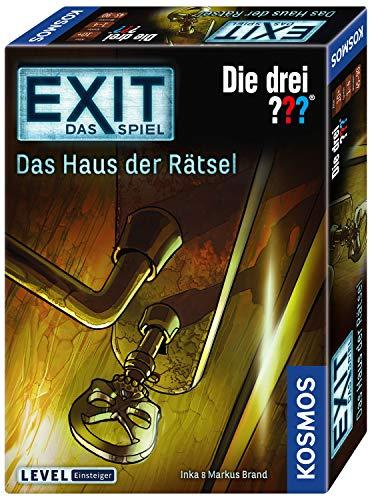 Kosmos 694043 - EXIT - Das Spiel - Das Haus der Rätsel - Die Drei??? Level: Einsteiger, Escape Room...