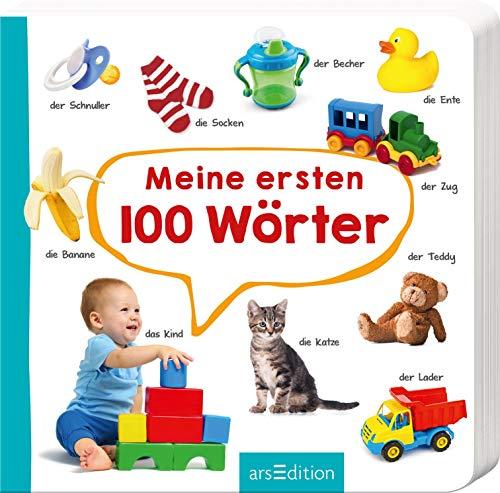 Meine ersten 100 Wörter: Foto-Wörterbuch   Mit stabilen Pappeseiten, fördert die Sprachentwicklung...