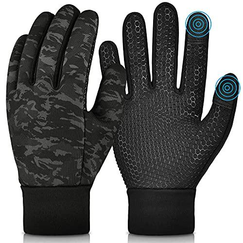 Kinder Winter Handschuhe Touchscreen - Dick Anti-Rutsch Winddichte Winterhandschuhe für Jungen Mädchen...