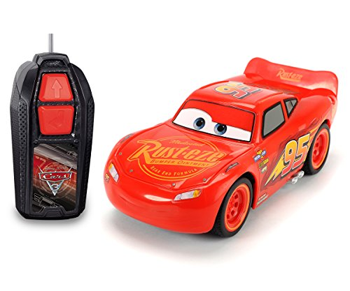 Dickie Toys RC Cars 3 Lightning McQueen Single Drive, Ferngesteuertes Auto, RC Auto, Spielzeugauto mit...