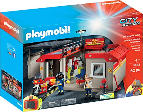 Playmobil 5663 - Mitnahme-Feuerwehrstation
