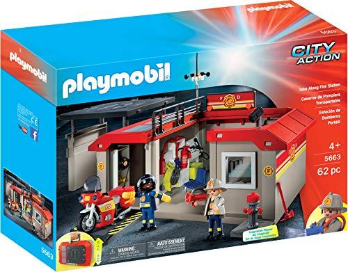 Playmobil 5663 - Mitnahme-Feuerwehrstation