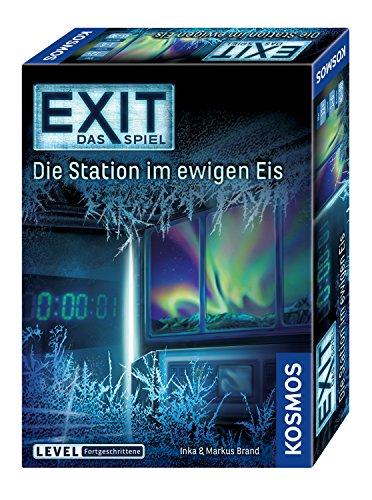 KOSMOS 692865 - EXIT - Das Spiel, Die Station im ewigen Eis, Level: Fortgeschrittene, Escape Room Spiel,...