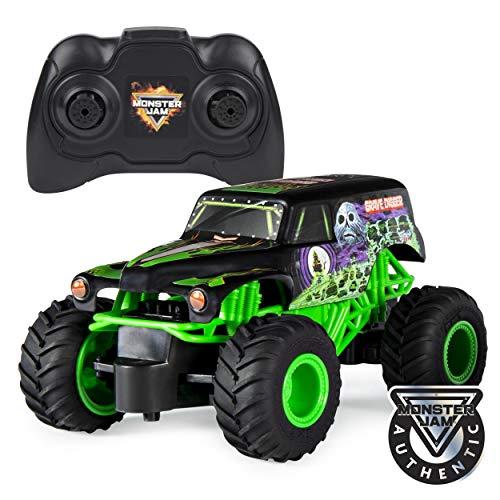 Monster Jam 6044955 - Grave Digger RC Truck, Maßstab 1:24, ferngesteuert