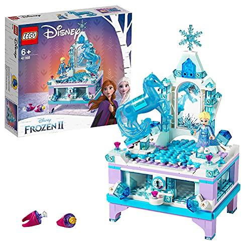 LEGO 41168 Disney Frozen Die Eiskönigin 2 Elsas Schmuckkästchen für Kinder mit ELSA Mini Puppe und...