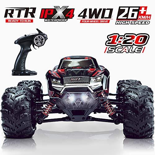 4WD Ferngesteuertes Auto, LUKAT 1:20 Maßstab RC Auto Offroad Elektro Fahrzeug 2,4 Ghz Hohe...