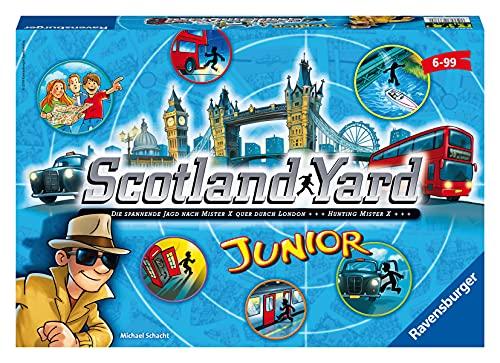 Ravensburger 22289 - Scotland Yard Junior, Brettspiel für 2-4 Spieler, Gesellschafts- und Familienspiel,...