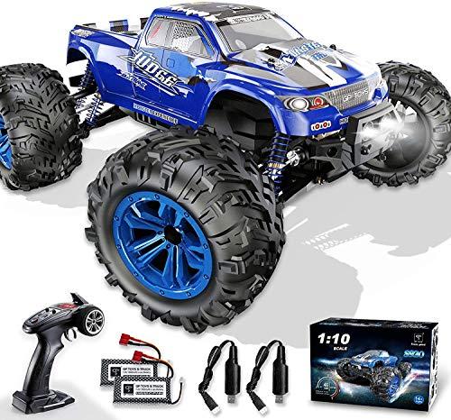 GP Toys Ferngesteuertes Auto 1:10 4WD 46 km/h Zwei Motor 2 Akku LED 2,4 GHz 30 Minuten Spielzeit...