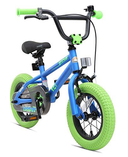 BIKESTAR Kinderfahrrad für Mädchen und Jungen ab 3-4 Jahre | 12 Zoll Kinderrad Kinder BMX Freestyle |...