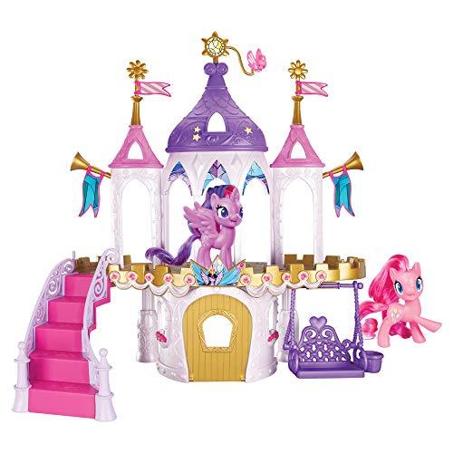 My little Pony E9919 Freundschaftsschloss Spielset inklusive Twilight Sparkle und Pinkie Pie, Ponyfiguren...