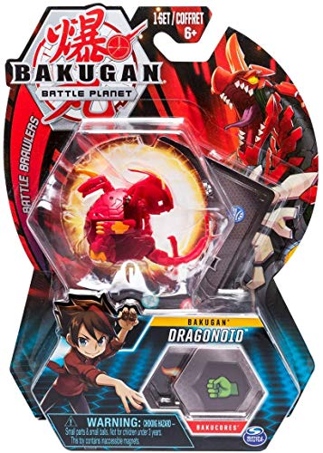 BAKUGAN Spin Master Battle Planet – Dragonoid – 5cm Battle Brawlers und Sammelkarte