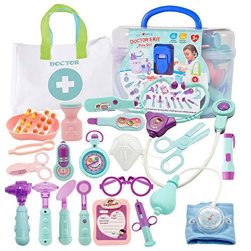 ZoneYan Doctor Toys, Doktorkoffer Kinder Klein, Arztkoffer Medizinisches Spielzeug, Arztkoffer Kinder,...