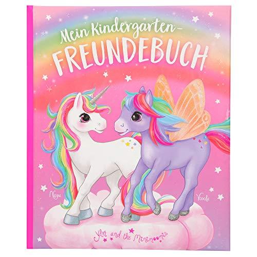 Depesche 11112 Ylvi - Kindergarten-Freundebuch mit zauberhaftem Einhorn Design, Freundschaftsbuch mit 96...
