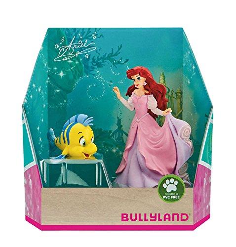 Bullyland 13437 - Spielfiguren Set, Disney Prinzessin - Arielle und Fabius, Geschenkbox, ideal als...