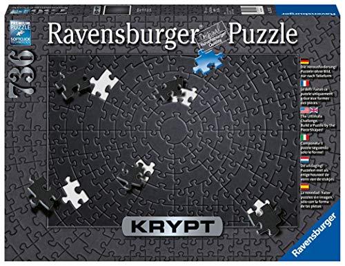Ravensburger Puzzle 15260 - Krypt Black - 736 Teile
