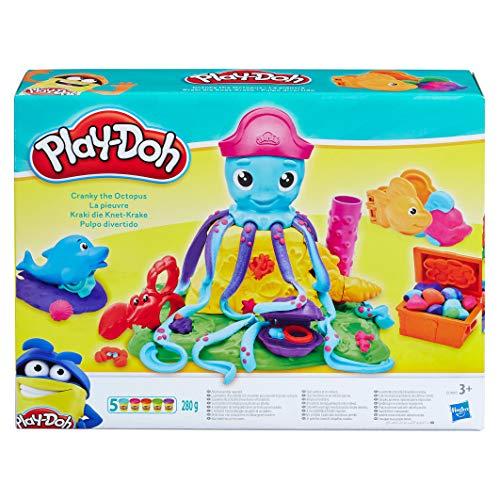 Hasbro Play-Doh E0800EU4 - Kraki die Knet-Krake Knete, für fantasievolles und kreatives Spielen