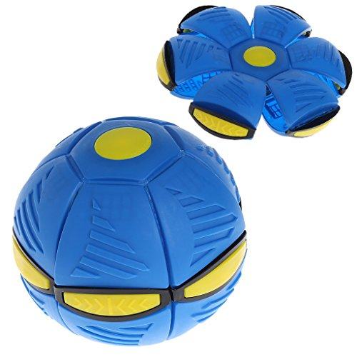 Faguo Flying UFO Flat Throw Disc Ball mit LED-Licht Toy Kid Outdoor Garden Beach Game