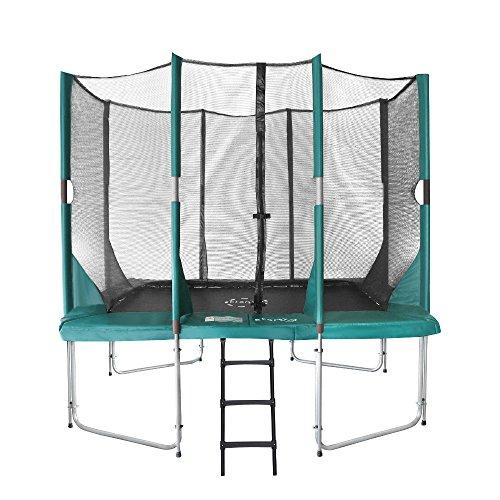 Etan Hi-Flyer Outdoor Trampolin Komplett mit starkem Sicherheitsnetz, UV-beständiges Randabdeckung &...