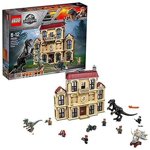 LEGO 75930 Jurassic World Indoraptor-Verwüstung des Lockwood Anwesens (Vom Hersteller nicht mehr...