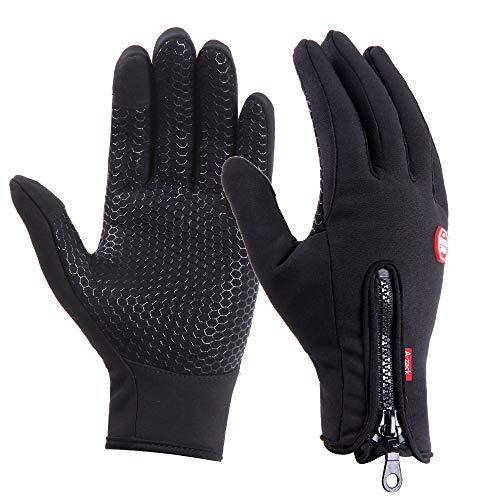 Brudergo wasserdichter Touchscreen Handschuhe Winter Fahrradhandschuhe Laufhandschuhe Sporthandschuh mit...