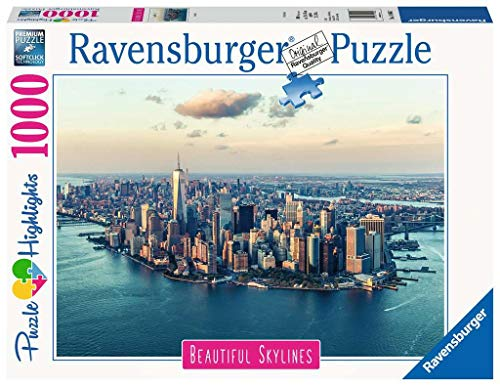 Ravensburger Puzzle 14086 - New York - 1000 Teile Puzzle für Erwachsene und Kinder ab 14 Jahren