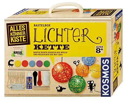 Kosmos 604288 AllesKönnerKiste Lichterkette zum Selbermachen - DIY-Bastelset für Mädchen und Jungen ab...