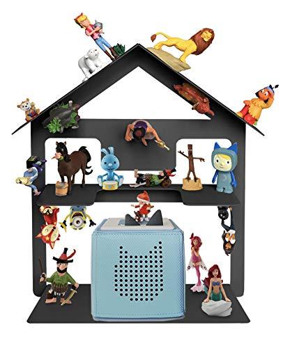 Toniebox Regal für über 42 Tonies, Tonie Regal für Kinder Sammelset Haus - Tonie Toniebox Zubehör -...