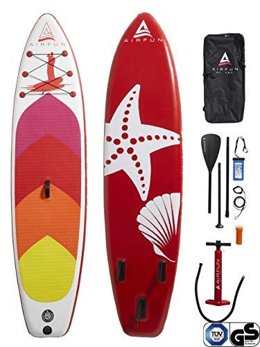 Sena AIRFUN SUP Paddleboard aufblasbar, TÜV geprüft | 305x76x15cm | 10.0' | Traglast 150 kg |...
