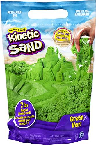 Kinetic Sand 907 g Beutel mit magischem Indoor-Spielsand grün