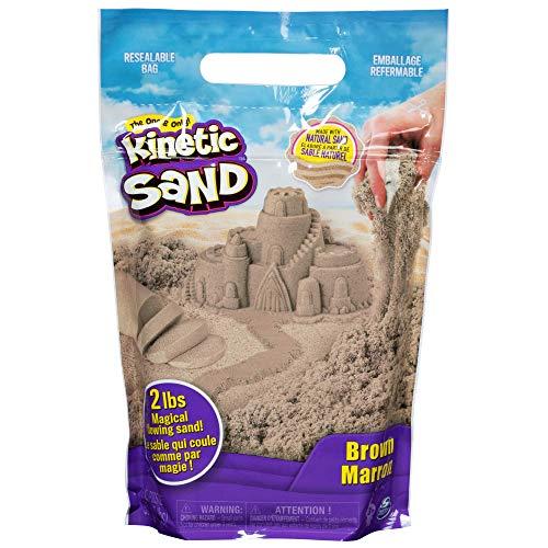 Kinetic Sand 907 g Beutel mit magischem Indoor-Spielsand naturbraun