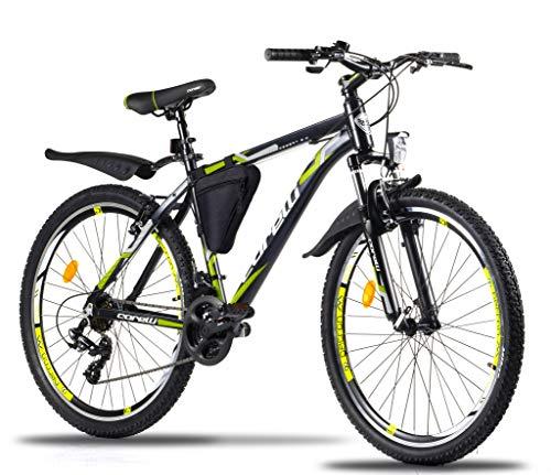 Corelli Desert Mountain-Bike 29 Zoll 27,5 Zoll 26 Zoll 24 Zoll 20 Zoll mit Aluminium-Rahmen, Shimano 21...