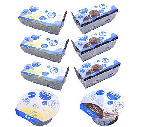 Fresubin 2 kcal Creme Schokolade + Vanille 2 Sorten Mischkarton insgesamt 24 x 125g (3x Schokolade 4x125g...