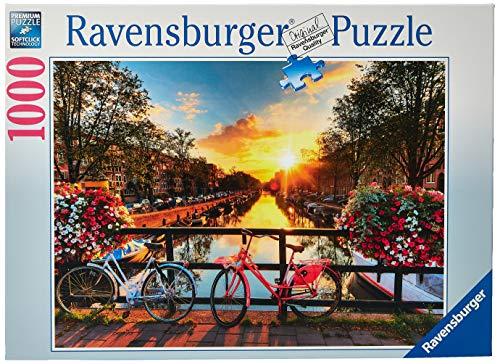 Ravensburger Puzzle  19606 - Fahrräder in Amsterdam - 1000 Teile