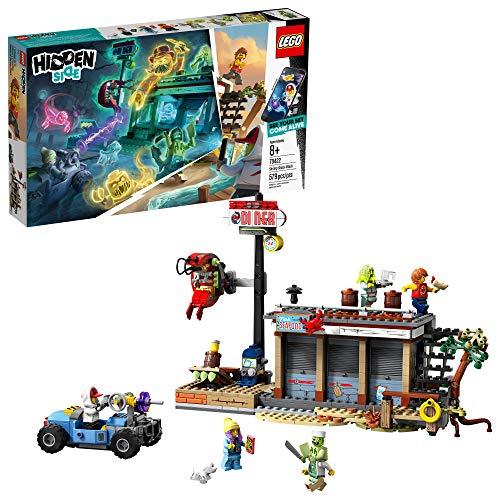 Lego Hidden Side 70422 - Shrimps Restaurant Angriff, Geister Spielset (579 Teile)