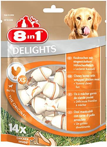 Hunde-Kauknochen 'Delights Chicken' von 8in1