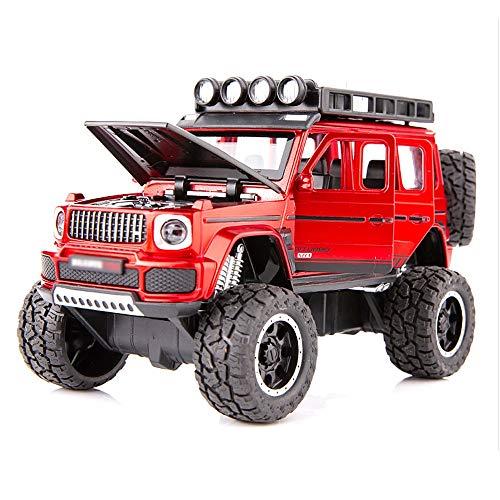 Xolye 4WD Buggy Bigfoot Toy 3 Farben erhältlich Metall Shatter-resistente Jungen und Mädchen...