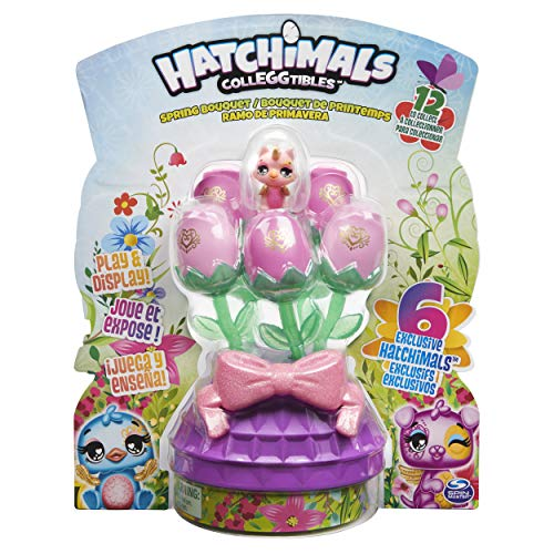 Hatchimals 6054229, Spring Bouquet with 6 Exclusive (Style May Vary), for Kids Aged 5 and Up...
