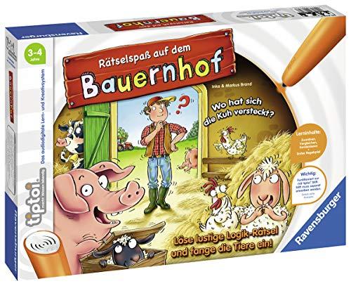 Ravensburger: tiptoi - Rätselspaß auf dem Bauernhof