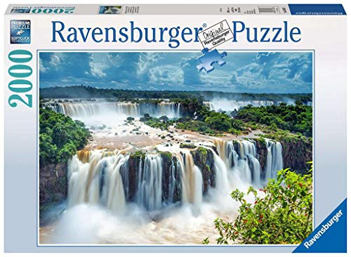 Ravensburger Puzzle 16607 - Wasserfälle von Iguazu, Brasilien - 2000 Teile Puzzle für Erwachsene und...