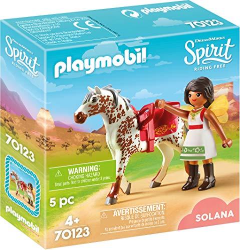 Playmobil 70123 Spirit - Riding Free Solana beim Voltigieren, bunt