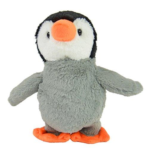 Kögler 75685 - Labertier Pinguin Fridolin, ca. 22,5 cm groß, nachsprechendes Plüschtier mit Aufnahme-...