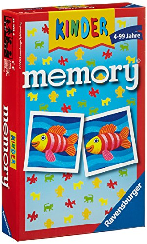 Ravensburger 23103 - Kinder memory, der Spieleklassiker für die ganze Familie, Merkspiel für 2-8...