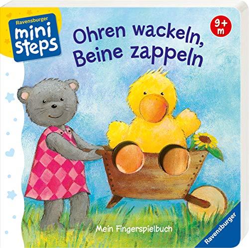 Ohren wackeln, Beine zappeln: Ab 9 Monaten (ministeps Bücher)