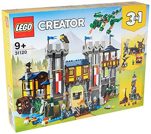 LEGO Creator Mittelalterliche Burg Konstruktionsspielzeug, mit Drachen Figur