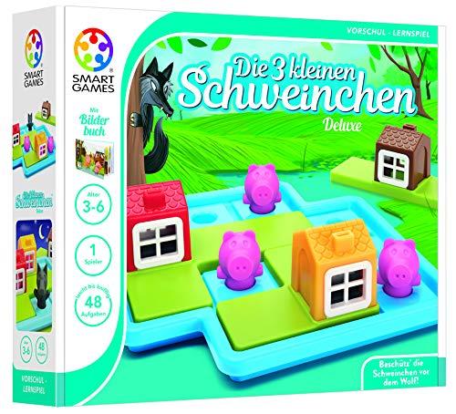 Smart Games SG 023 DE Die drei kleinen Schweinchen Deluxe